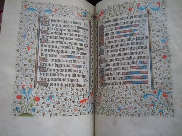 Libro de Horas de los Escolapios, siglo XV
