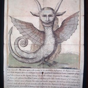 Monstruo de la Laguna de Tagua, Chile, 1784