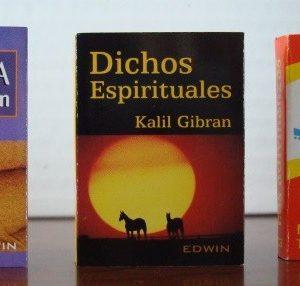 Lote 3 libritos en primera edición