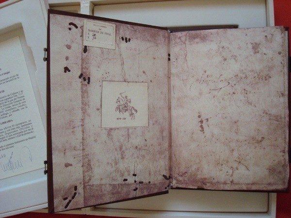 Poema de Mio Cid. Manuscrito de Per Abbat, año 1207
