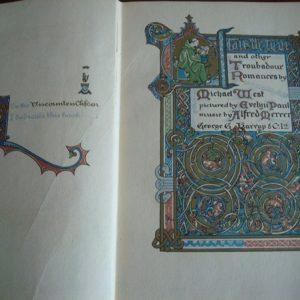 Clair de Lune and other troubadour romances, by Michael West, c.1913