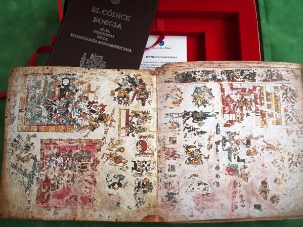 Códice Borgia, s. XIV