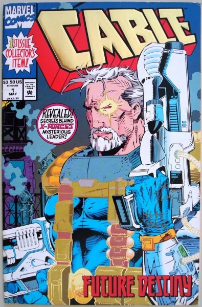 Cable: Vol 1 Num 1, mayo 1993, USA, limited