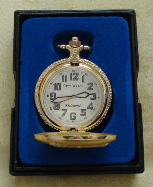 Reloj de bolsillo de la ciudad de Richmond (USA)