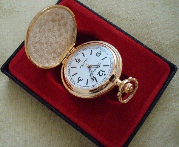 Reloj de bolsillo de la ciudad de Nueva York (USA)