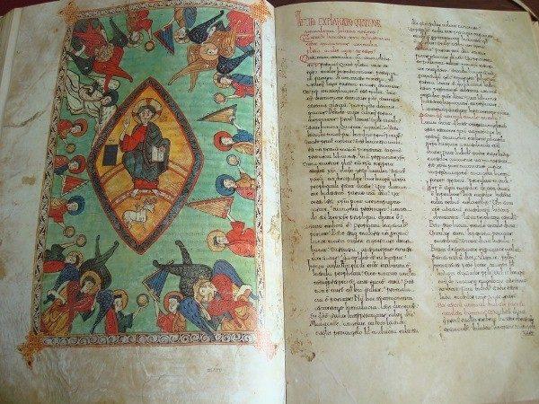 Beato de Liébana códice de El Burgo de Osma, 1086
