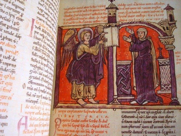 Beato de Liébana códice de Navarra, s. XII