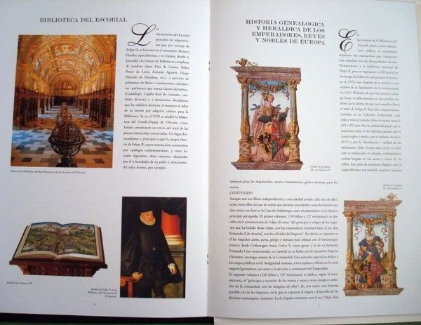 Hojas de la Historia Genealógica y Origen de los Austrias, s. XVI
