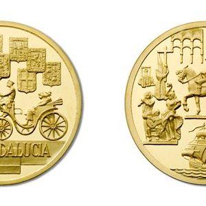 Medalla de la colección Autonomías de España, plata pura