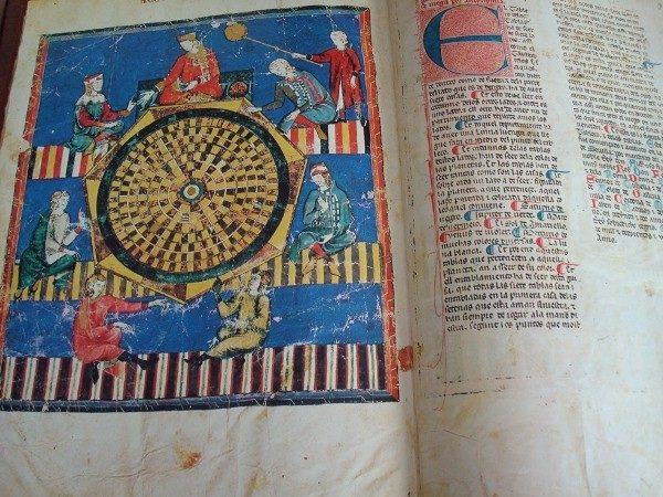 Libros de Ajedrez, Dados y Tablas de Alfonso X el Sabio, s. XIII (pergamino)