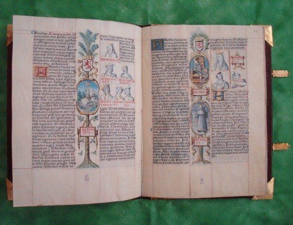 Genealogía de los Reyes de España (Anacephaleosis), c. 1530 (Número 1) *****