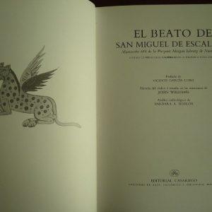 Beatus of Liebana Codex of San Miguel de Escalada, s. X, (EE)