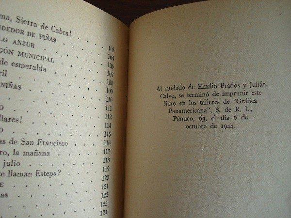 1944 Juan Rejano, El Genil y los Olivos