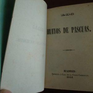 1844 Canónigo Schmid, Los huevos de pascuas (español)