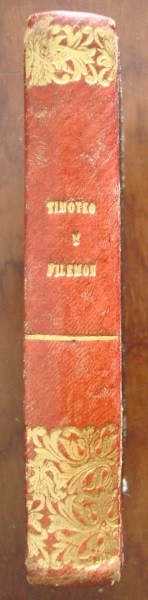 1844 Timoteo y Filemón, Canónigo Schmid