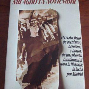 1981 Dan Kurzman, Milagro en noviembre