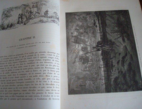 1869 L'Ingénieux Hidalgo Don Quichotte de la Manche