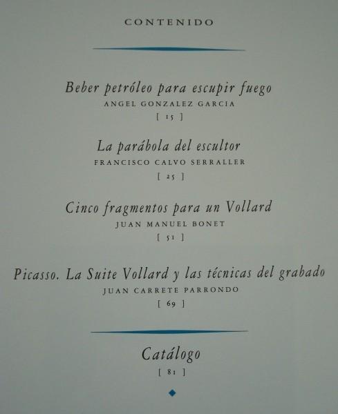 Suite Vollard, Picasso. Colección ICO