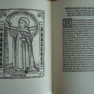 Vida de San Vicente Ferrer, año 1510