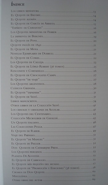 Microbibliografía cervantina - Cervante's microbibliography (tamaño normal)
