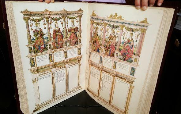 Historia genealógica y heráldica de los emperadores, reyes y nobles de Europa, c. 1547