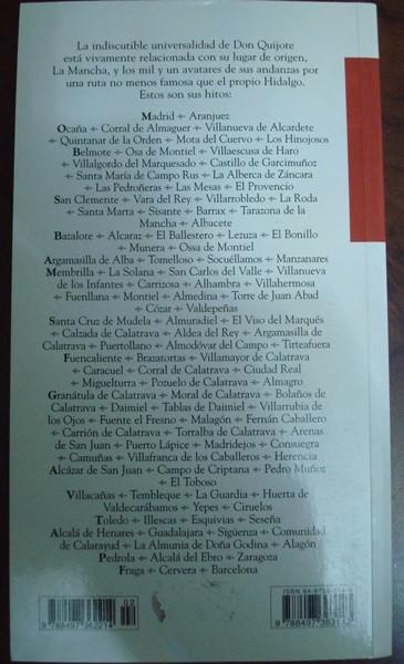 Las rutas del Quijote. Antonio Aradillas, 2005