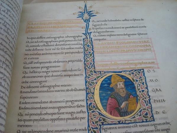 La Geographia de Ptolomeo, o Ptolomeo Vaticano, s. XV *****