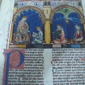 Libros de Ajedrez, Dados y Tablas de Alfonso X el Sabio, s. XIII *****+ (en pergamino natural)