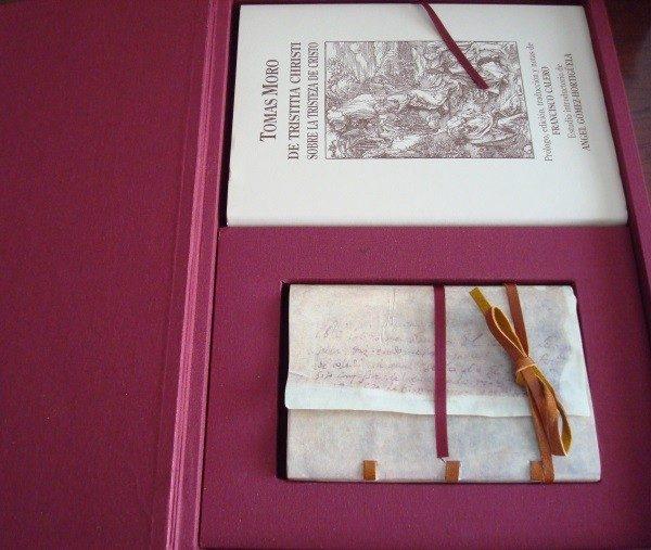 De Tristitia Christi (Sobre la Tristeza de Cristo), Tomás Moro, 1535