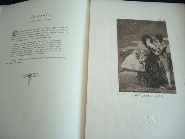 Goya: Los Caprichos, obra gráfica