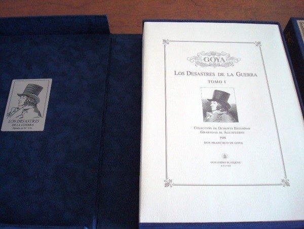 Goya: Los Desastres de la Guerra, obra gráfica