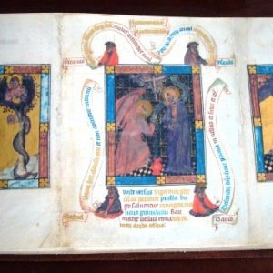 Hague Bible (Bible Pauperum), c. 1405