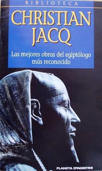 Biblioteca Christian Jacq Egipto, Planeta, 2001