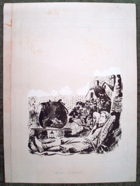 Alberto Breccia, Joven y escena rural, 1967