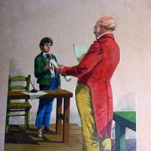 Alberto y Enrique Breccia, Maestro y alumno, 1971