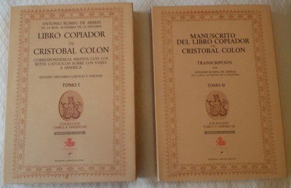 Libro Copiador de Colón (s. XV-XVI)