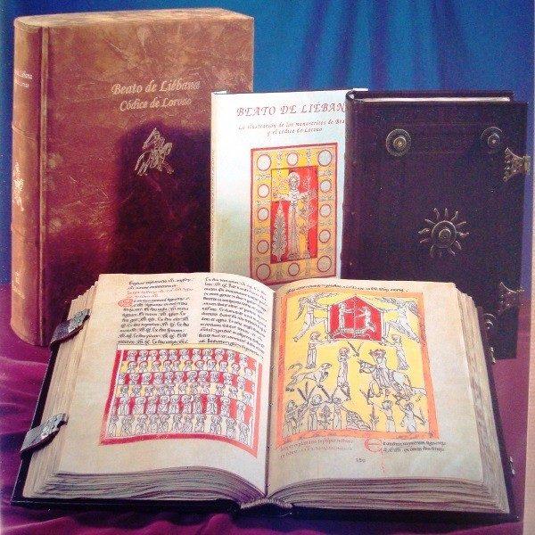 Beato de Liébana códice de Lorvao, año 1189