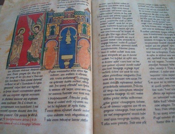 Beato de Liébana códice de Manchester, s. XII