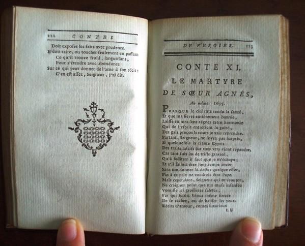 1780 Vergier, Oeuvres. Original en francés