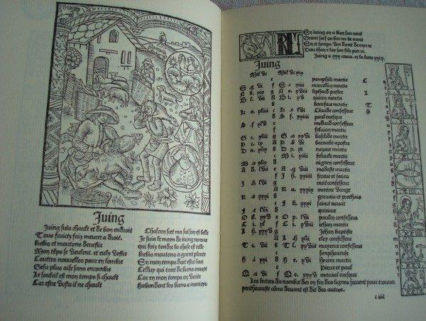 1499 Compost et kalendrier des bergères