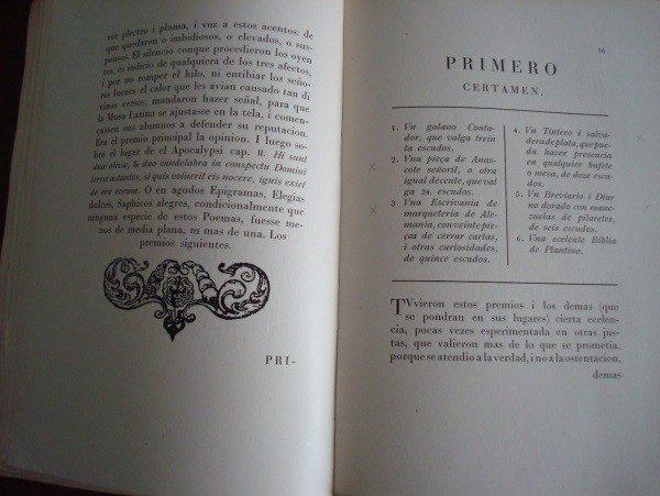 Encomio de los ingenios sevillanos... año 1623 (Número 1)