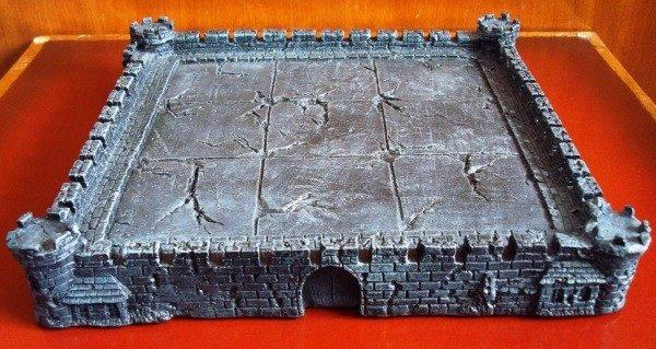 Tablero medieval muy decorativo