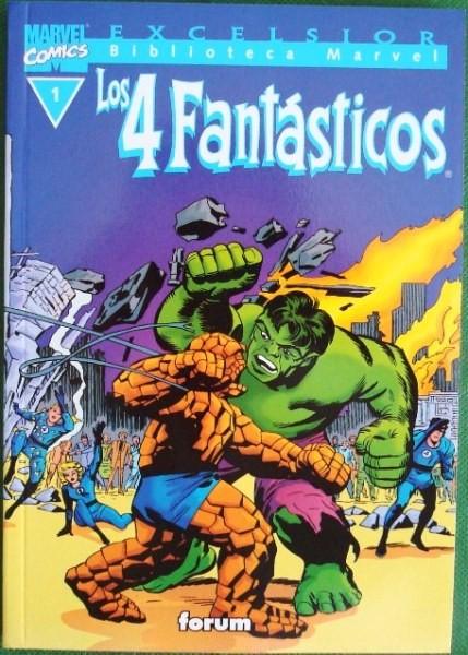Los 4 Fantásticos, colección Excelsior Biblioteca Marvel