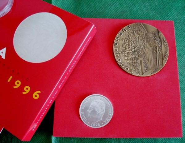 1996 Goya: medalla y moneda 250 aniversario