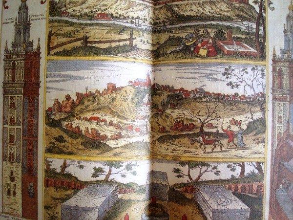 Theatrum illustriores Hispaniae urbes, año 1657