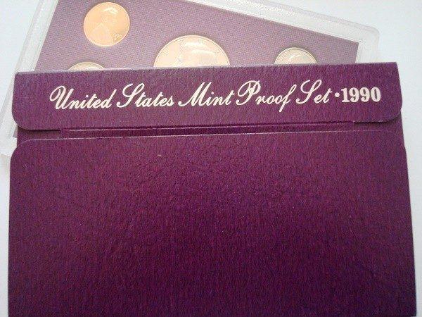 1990 EE.UU. Casa de la Moneda en San Francisco