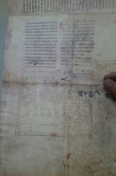 Fragmentos de Beatos de Liébana, s. IX al XII