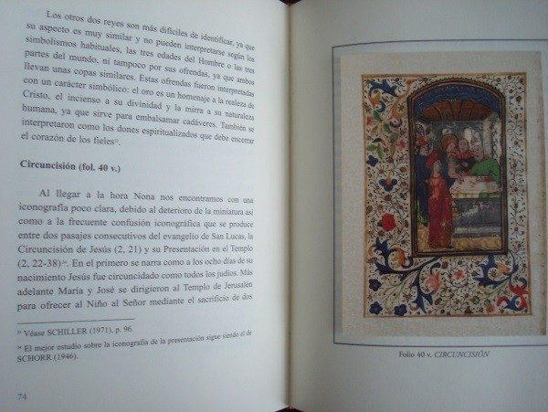 Libro estudio del Libro Horas de la Virgen María, s. XV