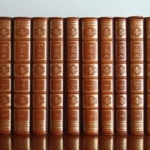 Enciclopedia de Diderot y D'Alembert, 1970-1979, piel marrón, FMR