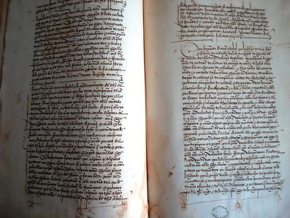 Libro de los Privilegios. Cristóbal Colón. 1498